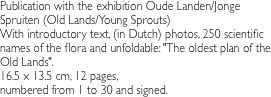 Publication with the exhibition Oude
